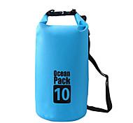 10 L Водонепроницаемый сухой мешок Водонепроницаемая сумка Водонепроницаемость Пригодно для носки для Восхождение Плавание Пляж  Отдых и