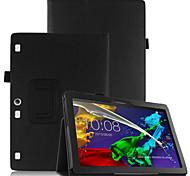 Pu copertina per lenovo tab3 tab 3 10 business x70f tb3-x70f x103f con protezione dello schermo