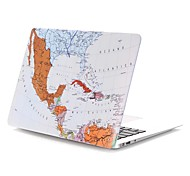 Map Pattern MacBook Case For MacBook Air11/13 Pro13/15 Pro with Retina13/15 MacBook12