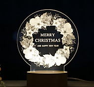 1PC Creative Christmas Night Light