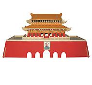 Rompecabezas Puzzles 3D Bloques de construcción Juguetes de bricolaje Arquitectura China Madera Modelismo y Construcción