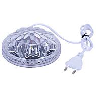 Amazing UFO Portable Laser Stage lights 5W RGB 48 leds Sunflower led lighting wall lamp for KTV DJ Party Wedding AC90-240V