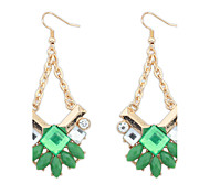 Earrings Set Jewelry Euramerican Fashion Personalized Gem Rhinestone Alloy Jewelry Jewelry For Wedding Special Occasion 1 Pair
