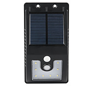1PCS Outdoor Solar Powered 10 SMD LEDs Motion Sensor Wall Light Garden Lamp