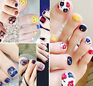 1PC The High Quality Toenails Stickers