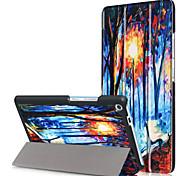 Cubierta de la caja de impresión para lenovo tab3 tab 3 7 plus 7703 tb-7703x tb3-7703f con película de pantalla