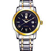 Tevise Men's Women's Couple's Fashion Watch Mechanical Watch Automatic self-winding Calendar Water Resistant / Water Proof Luminous