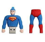 Новый мультфильм творческий супермен usb 2.0 128gb флеш-накопитель u диск флеш-накопитель