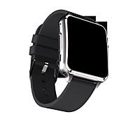 Yyx7 smartwatch display curvo com bluetooth 4.0 câmera stand sim card tf facebook twitter inteligente despertador para android / ios