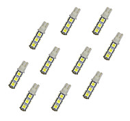 10Pcs T10 13*5050 SMD LED Car Light Bulb White Light DC12V