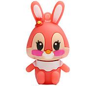 Горячий новый флеш-накопитель флэш-памяти usb 2.0 128gb кролика