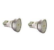 7W E14 GU10 E27 Lampes Horticoles LED 40 SMD 5730 800-1200 lm Blanc Chaud Blanc Rouge Bleu V 2 pièces