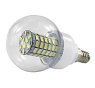 4.5W E14 LLED Globe Bulb AC85-265V 69 SMD5730 420Lm Warm/Cool White 110V 220V  Spotlight Lamparas (1 Piece)