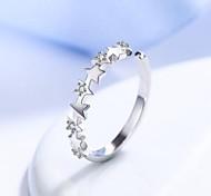 Ring Basis Kupfer Weiß Schmuck Für Alltag Normal 1 Stück