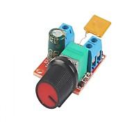 Плата управления скоростью двигателя постоянного тока 3v-35v 5a контроллер pwm бесступенчатый стабилизатор напряжения регулятор диммера