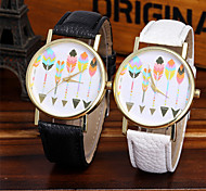 Ladies Fashion Quartz Watch Women Feather Leather Casual Dress Women's Watch Reloje Mujer Montre Femme