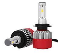 2шт 12v h7 csp led автомобильный фары комплект автомобильный фары автоматический замена ксеноновых ламп h7 головные фонари светодиодные