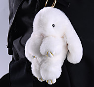 Bag / Phone /  Keychain Charms Rabbit Fur 14CM