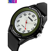 SKMEI Vintage Belt Business Quartz Waterproof Watch