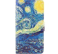 Case For Samsung Galaxy Grand Prime On7(2016) Case Cover The Starry Sky Pattern PU Leather Cases for On5(2016)