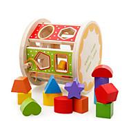 Bausteine Steckpuzzles Für Geschenk Bausteine 3-6 Jahre alt Spielzeuge