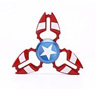 Спиннеры от стресса Ручной обтекатель Волчок Игрушки Игрушки Tri-Spinner Металлический сплав EDCСтресс и тревога помощи Фокусная игрушка