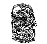 Series de TótemMujer Hombre Juventud flash de tatuaje Los tatuajes temporales