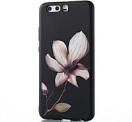 Для huawei mate 8 mate 9 pro чехол чехол для цветочного узора рельеф tpu материал корпус для телефона p10 p9 p8 lite 2017 6x nova v9