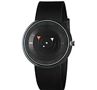 Men's Fashion Watch Digital Watch Digital Silicone Band Black White