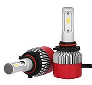 2pcs 9005 phare 72w 7200lm philips led kit haut bas faisceau remplacer halogène xénon 6500k 12v