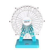Ventilateur d'air Cool et rafraîchissant Interrupteur tactile Règlement sur la vitesse du vent Batterie