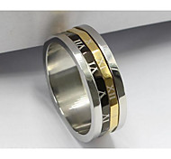 Women's Ring Jewelry Basic Stainless Steel / Iron Jewelry For Birthday Dailywear Daily