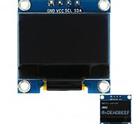 0.96 128x64 интерфейс интерфейса i2c с цветным дисплеем для arduino