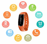 Men's Women's  Smart Bracelet Bluetooth 4.0 Heart Rate Monitor Smartband Pulse Sports Smart Band Fitness Tracker for Android iOS