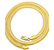 Муж. Ожерелья-бархатки Бижутерия Бижутерия Позолота Простой стиль Бижутерия Для Повседневные 1 упаковка