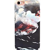 Для яблока iphone 7 7 плюс 6s 6 плюс чехол чехол море облаков узор деколь уход за кожей touch pc материал телефон случай