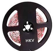 36W Faixas de Luzes LED Flexíveis lm DC12 V 5 m 300 leds Vermelho