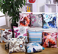 6 Design Butterfly And Flower Pillow Cover Europe America Style Pillow Case