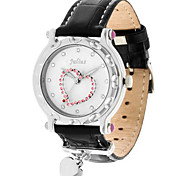 Women's Fashion Watch Quartz Water Resistant / Water Proof Leather Band Casual Black White Red Brown