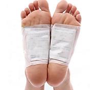 1 ящик тела токсин чистки здоровой похудения Детокс ноги ноги патчей колодки комплект (10 патчей и 10 адгезивов)