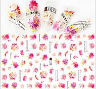 1pcs Fashion Beautiful Flower Design Nail Art 3D Stickers Creative Flower DIY Beauty Decoration F092