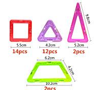 Магнитные блоки Для получения подарка Конструкторы Квадратный Треугольник 6 лет и выше Игрушки