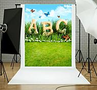 Foto de vinil cenário criança estúdio artístico fotografia fundo bebê 5x7ft