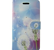 For Samsung Galaxy A5 2017 A3 2017 Case Cover Dandelion Body Cover with Card and Booth A3 2016 A5 2016 A3 A5