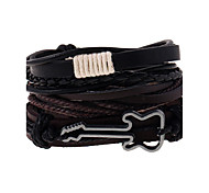 The New Woven Leather Leather Bracelets