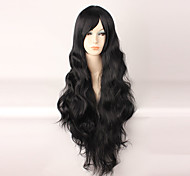 Lolita Wigs Sweet Lolita Black Long Curly Lolita Wig 85 CM Cosplay Wigs Wig 147