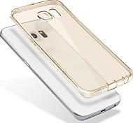 Для samsung s7 phone case прозрачная защитная крышка / мобильные телефоны наборы силиконовой анти-капли мягкой оболочки samsung galaxy