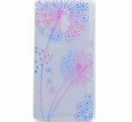 For Nokia 6 Case Cover Transparent Pattern Back Cover Case Dandelion Soft TPU Case