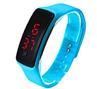 LED Electronic Bracelet Fashion Lovers Bracelet LED Silicone Bracelet Sports Smart Bracelet