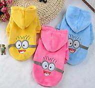 Собака Комбинезоны Одежда для собак Косплей Носки детские Желтый Синий Розовый